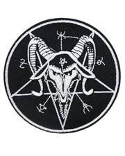 IRON ON PATCH. BAPHOMET
