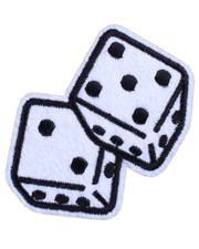 IRON ON PATCH. DICE