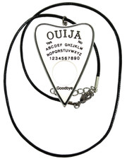 Ouija necklace. White