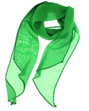 3 in 1 scarf. Irish green