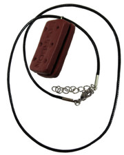Bourbon. Waxed Cord Necklace