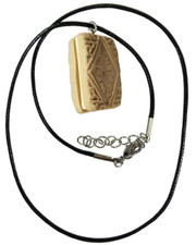 Custard cream. Cord Necklace