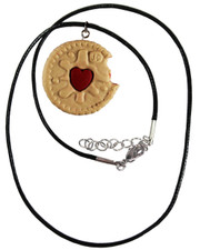 Jammy dodger. Cord Necklace