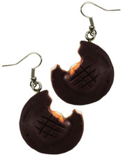 jaffa cake earrings