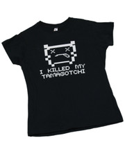 I Killed My Tamagotch.  Ladies T-Shirt.