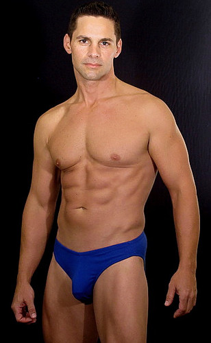 """MENS 2"" SIDEWIDTH  BIKINI OR THONG - COTTON UNDERWEAR( 20 Color Selections) Customize Back Cut"