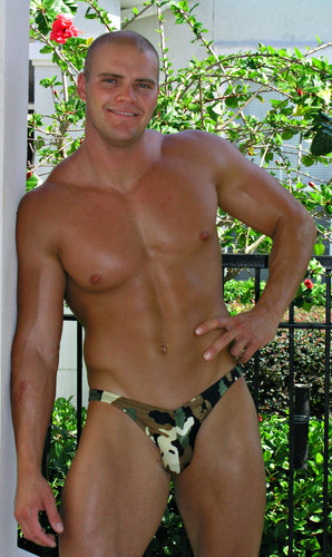 Mens Camo Contour Bikini ( 5 Print Selections)Customize Front Cut, Side Width, and Back Cut