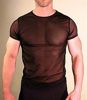 MENS SHEER SHIRT ( 13 COLOR SELECTIONS)
