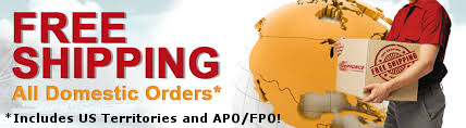 Free Standard Shipping to US and its Territories including APO/FPO