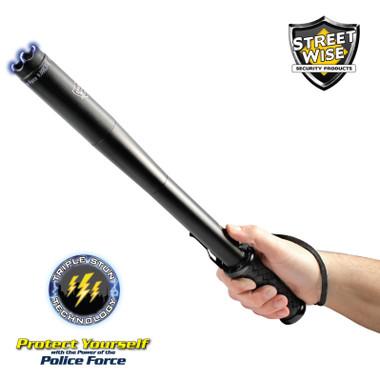 Streetwise Police Force 9,000,000 Tactical Stun Baton Flashlight (SWPFTB9R)