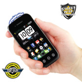 Streetwise SamStun 6,000,000 Cell Phone Stun Gun Black Rechargeable (SWSAM6RB)