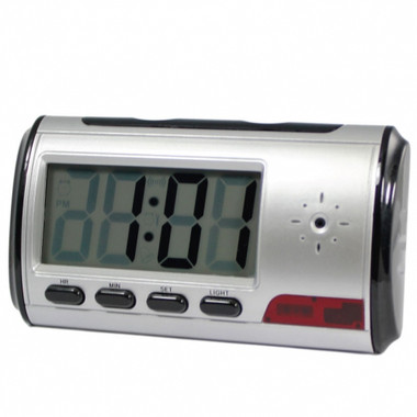 Spy Digital Alarm Clock DVR with Motion Detector (DVRMFC)