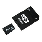 32GB Micro SD High Capacity Memory Card with Adapter (MSD32GB)