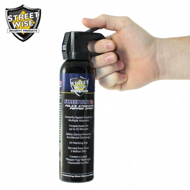 Streetwise Police Strength 23 Pepper Spray 9 oz. Fire Master (SW15FM23)