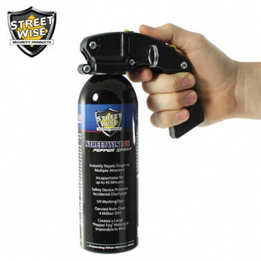 Streetwise Lab Certified 18 Pepper Spray 16 oz. Pistol Grip (SW16PG18)