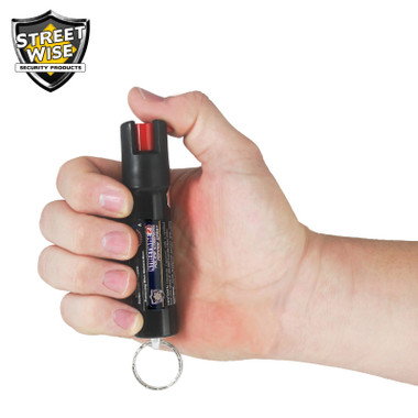 Streetwise Police Strength 23 Pepper Spray 3/4 oz. with Key Ring and Clip (SW4523)