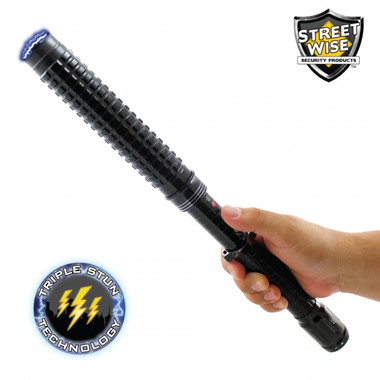 Streetwise Attitude Adjuster 13,000,000 Tactical Stun Baton Flashlight (SWAAB13)