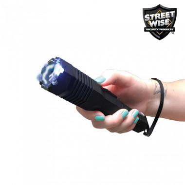 Streetwise Security Guard 24/7 24,700,000 Stun Gun Flashlight (SWSG247B)