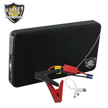 Streetwise 6000 mAh Power Bank & Auto Jump Starter (PBAJS6) - Contents
