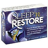 Sleep 'n Restore, 20 Tablets by Natrol