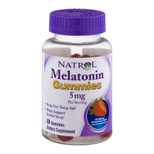 Melatonin 5mg Gummies by Natrol