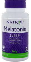 Melatonin Timed Release 1mg 100 tablets by Natrol