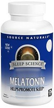 Melatonin 2mg 60 Time Release Tablets by Source Naturals