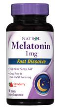 Natrol Melatonin 1mg Fast Dissolve