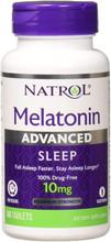 Melatonin 10mg Advanced Sleep 60 Tablets by Natrol