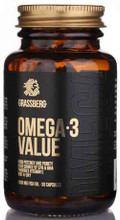 Omega-3 Value 1000mg | 30 Softgels by Grassberg