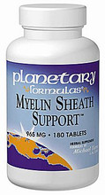 Myelin Sheath Support 820mg 90 Tablets by Planetary Formulas