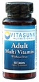 Adult Multi-Vitamin w/o Iron 60 Tablets by Vitasunn