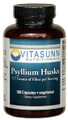 Psyllium Husk 500mg 180 Vegetarian Capsules by Vitasunn Nutritionals