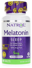 5mg Timed Release Melatonin 100 tablets by Natrol