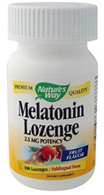 Melatonin 2.5mg Sublingual Lozenges 100 count by Nature's Way