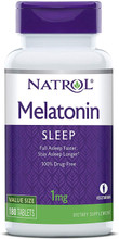 Melatonin 1mg 180 tablets by Natrol