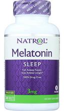 Melatonin 3mg 240 tablets by Natrol
