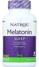 Melatonin 3mg 240 tablets by Natrol