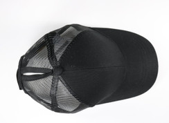 CC Beanie Classic High Pony Tail Hat - Black