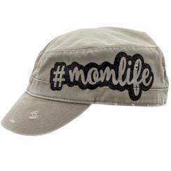 #momlife Cadet Cap/Hat - Khaki