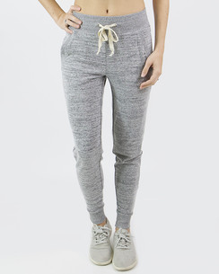 Grace and Lace Snow Day Joggers - Space Dyed Grey