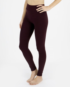 Live-in Leggings - Wine
