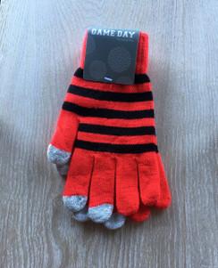 Gloves - Red Black