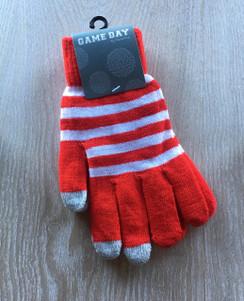 Gloves - Red White