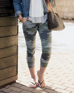 Grace and Lace Camo Joggers