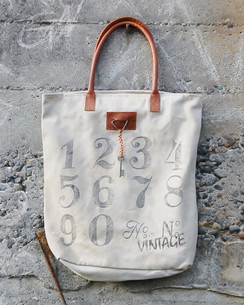 Tote Bag By The Numbers