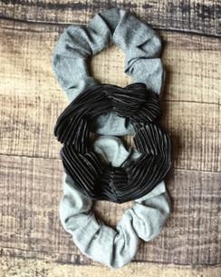 Soft & Sassy - Grays and Black - 3pk