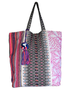 Chloe and Lex - All About Pink Tote with Tassel