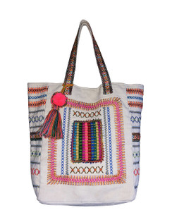 Chloe and Lex - Vibrant Stitches Summer Tote