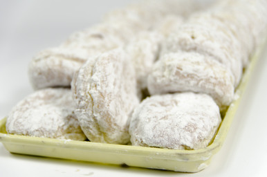 Powdered Custard Donuts